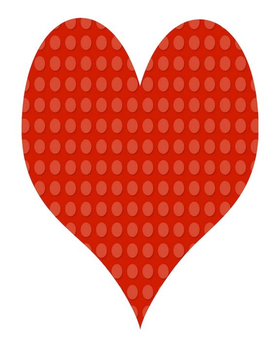 10-Mix Heart Shape Lego-Background-Digital-ClipArt-Art ...