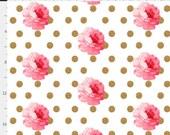 Custom Roses Gold Dot/Light Pink Minky/Light Pink Minky Dot order for Stephanie