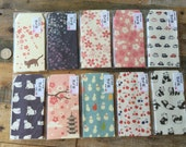 Washi Mini envelopes for Gift Wrapping, Thank you Note, Party Favor, Scrapbooking