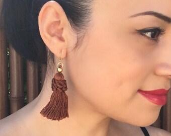 Vintage Tassel Earrings/ 14k Gold- 6 Colors