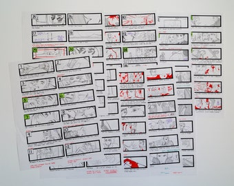 Resident Evil: Chaos Storyboards