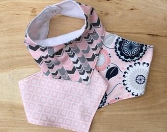 Baby Bibdana Drool Bib Baby Girl Bib Set Bib Set Triangle Bibs Modern Bandana Bib Cotton Bibs Flower Bib Chevron Bib Aztec Bib Baby Gift