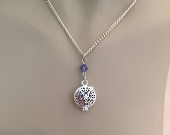 Essential Oil Diffuser Necklace, Simple Essential Oil Diffuser, Lavenderl Diffuser Necklace
