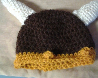 alpaca viking hat