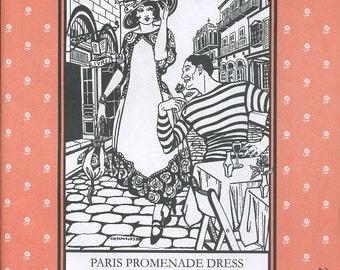 Paris Promenade Dress, Folkwear Pattern 261