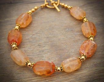 Orange Bracelet for Women