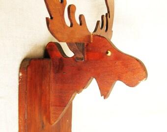 Moose Head Mount Etsy