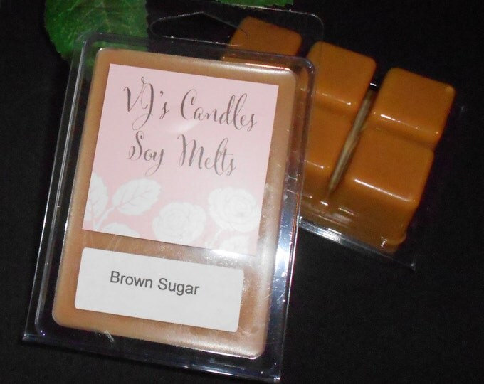 Three Packages of Scented Wax Melts for Wax Melt Warmers: Brown Sugar, Bubble Gum and Buttercream
