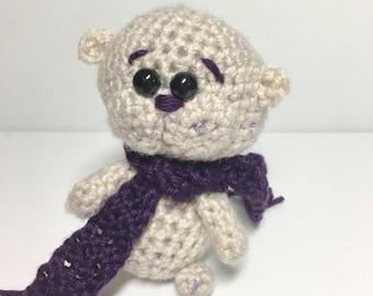 Emir Otter - Amigurumi plushie stuffed toy