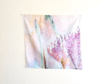 Glaze Sheer Voile Wall Print