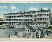 Wolf Inn Bristol Rhode Island 1920s postcard