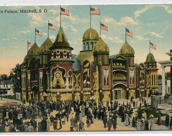 Corn Palace Mitchell South Dakota 1912 postcard