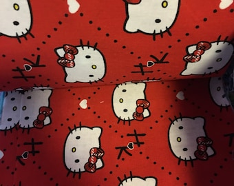 Red Hello Kitty Scrunchi Type  Stethoscope Cover