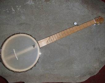Curly Maple Open Back Banjo, Zachary Hoyt #40