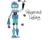 Reserved Listing for Jo Ann