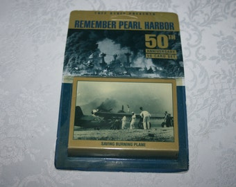 Vintage Tuff Stuff Remember Pearl Harbor 50th Anniversary 50 Card Set 1991