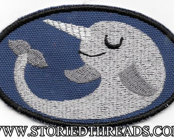 Kawaii Narwhal Patch