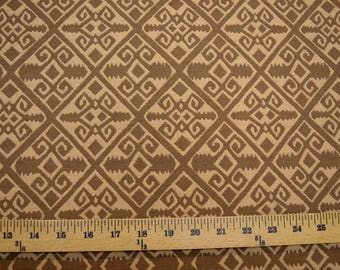 Brown Southwest Upholstery  Fabric