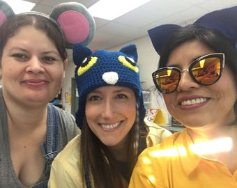 Made to Order Pete the Cat inspired hat: Adult, Teacher,