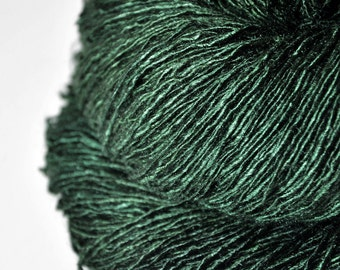 Lost in the coniferous forest - Tussah Silk Fingering Yarn