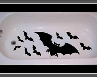 Bats Non Skid Bathtub Decal