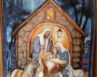 Nativity Wall Hanging