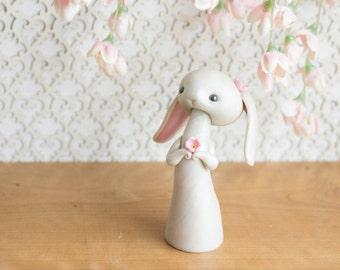 Lop Bunny Rabbit Figurine by Bonjour Poupette