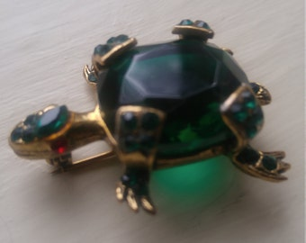 Vintage Weiss Jelly Belly Brooch Pin.