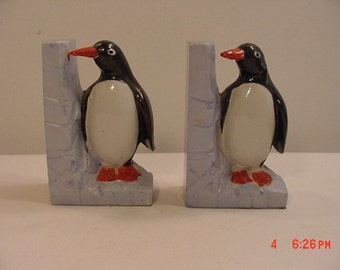 Vintage Penguin Bookends  17 - 264