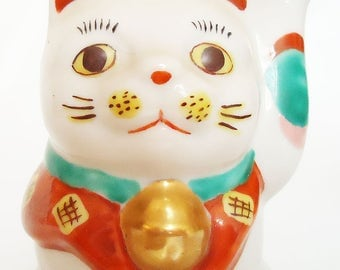The Japanese Lucky Cat.60s.Maneki Neko