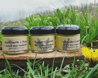 Shea Butter Deodorants- 3 varieties to choose from