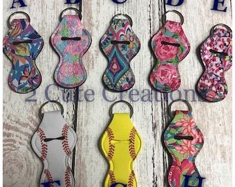 Chapstick holders/ keychain
