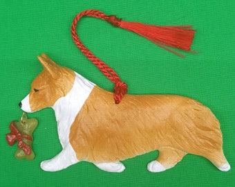 Pembroke Welsh Corgi Dog Christmas Ornament