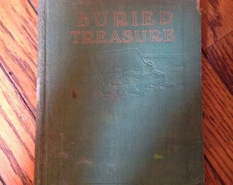 Vintage 1927 Buried Treasure Lucas Reed Book Pacific Press