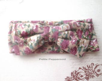 Baby Headband, Baby Head Wrap, Bow Knot Headband, Top Knot headband, infant bow headband, baby turban wrap, baby hair bow, toddler head band