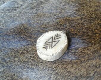 Viking Oak Dagaz Pocket Rune