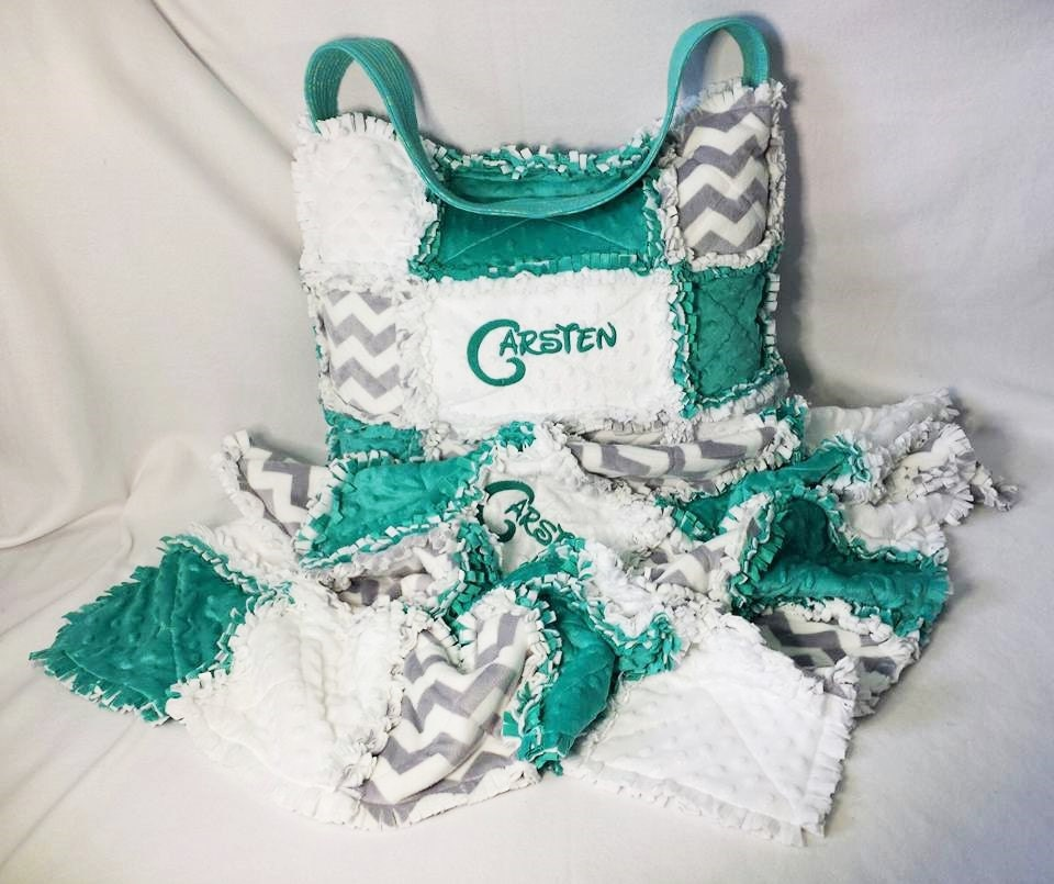 Custom Made Diaper Bags and Blankets