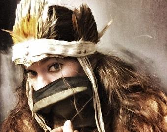 Luxiourious Faerie Feather Headband