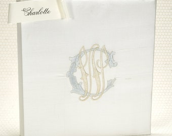 Wedding Album / Scrapbook / Memory Book / Brides Book - Charlotte