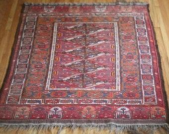 Oriental or Persian Rug Turkish rug Excellent condition 5.5 ft. x 3.33 ft.