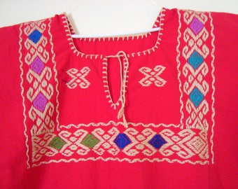 pink blouse mexican blouse huipil