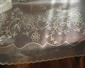 Lace Curtains Vintage Pair Never Used 1960s