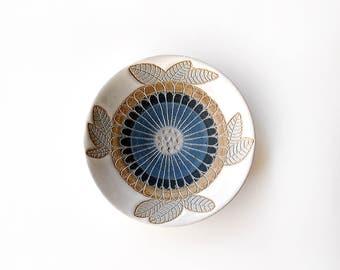 Yuzen Camellia Jewelry Dish