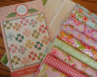 Smarty Pants Quilt Kit with Colette Fabric from Moda