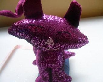 Purple Cat Pin Cusion
