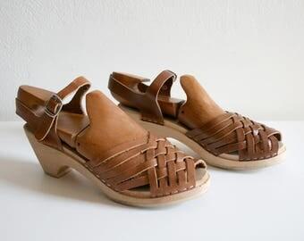 Maguba Woven Swiss Sandals 40