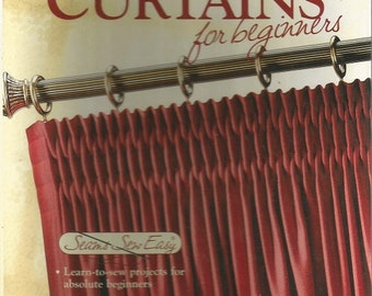 Coats and Clark Curtains for Beginners Book