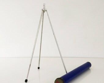Vintage Camera Tripod - Tikern Duraluminum Tabletop Tripod