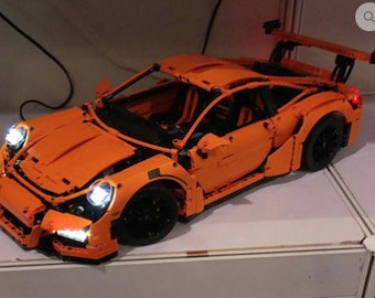 Light up kits for 42056 - Porsche 911 GT3 RS - (Lego car not included)