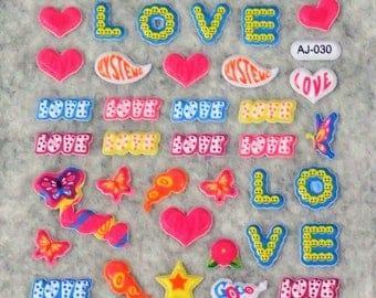 Mixed Cute Assorted Love Stickers